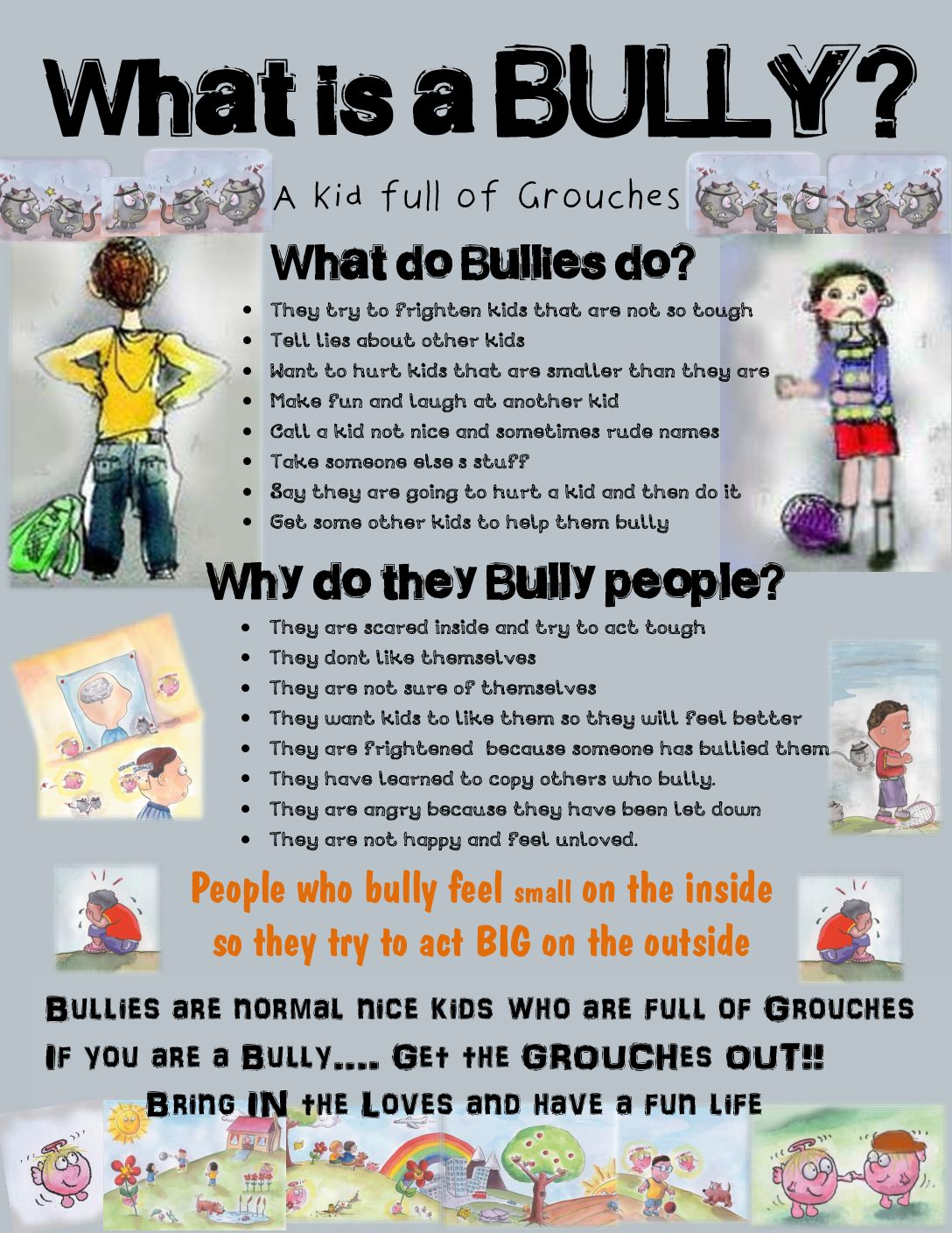 What is a BULLY?  chart.